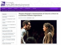 Triangle A&E Review: Theatre Raleigh's Presentation of Once Is a Once-in-a-Lifetime Theater Experience