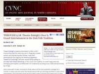 CVNC Review: Theatre Raleigh's Once Is Grand Entertainment in the Irish Folk Tradition