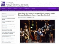 Triangle A&E Review: First-Rate Acting and Superb Musicianship Make Theatre Raleigh's Once a Must-See Musical